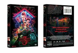 Branded dvd online-2019 neue heiße Stranger Things Staffel 3 (DVD, 2019) Brand New Sealed