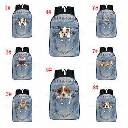 2019 cão impresso mochilas  desconto cão impresso mochilas