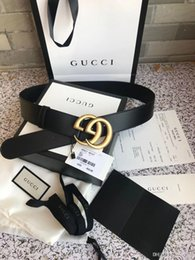 2019 llaveros coche jaguar De calidad superior 4.0 cm diseñadores Cinturones para hombre Cinturones para la Mujer de lujo correas de cuero de la correa de oficina Caja envío libre hombre de la moda correa de cuero de las mujeres