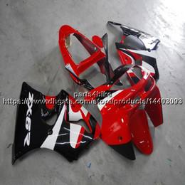 2019 1999 kawasaki zx6r scarpe rosse Custom + 5Gifts Red carenatura moto per Kawasaki ZX6R 1998-1999 ZX-6R 98 99 kit in plastica ABS 1999 kawasaki zx6r scarpe rosse economici