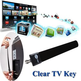 free cable antenna Coupons - Clear TV Key Digital Indoor HDTV Free TV Antenna Fire Stick Antena Television Antennas 1080P Ditch Cable