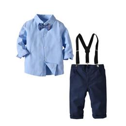 White Tuxedo Matching Pants Shirt In Desc Roblox - Kids Party Wear Dresses For Boys Clothing Set Shy Blue Shirt Nary Pants 4pcs Gentleman Suit With Tie Infant Children Clothes