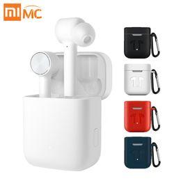 Auricular xiaomi mi online-Xiaomi mi Airdots pro estéreo Aire TWS Auricular Bluetooth inalámbrico verdadera deporte del auricular de ANC interruptor automático ENC Pausa de Control