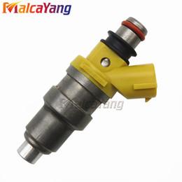 2019 nissan partes nuevas Prueba de flujo Inyectores de combustible de alta impedancia para Nissan 63562 650CC 1001 87094 para RB25D RB30E Boquilla de combustible 1001-87094 100187094