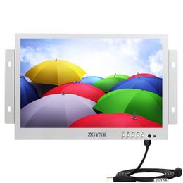 2019 n box tv ZGYNK10.1 pollici touch capacitivo bianco integrato display aperto 1080P apparecchiature di controllo industriale tocco medico IPS display co co