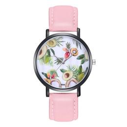 женские модные наручные часы Скидка Новые Женщины Леди Кожаный Ремешок Бриллианты Круглые Аналоговые Кварцевые Наручные Часы Часы Модные Популярные Хороший Подарок Sweety