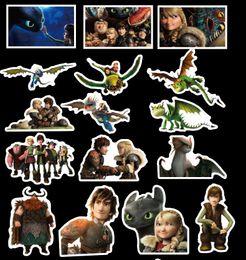 50 set 42 unids / set Graffiti Sticker Personalidad Cómo entrenar a tu dragón 3 Equipaje DIY pegatinas de dibujos animados PVC bolsa de pared niños juguetes desde fabricantes