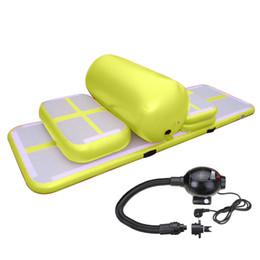Bomba de aire inflable con bomba de aire Equipo de entrenamiento popular para niños y adultos Juego de entrenamiento de pistas inflables DWF para la venta desde fabricantes