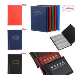 coin collection album Promo Codes - 60 120 Pockets Coins Collecting Coin Holders for Collector GiftsAlbum Collection Mini Penny Coin Storage Album