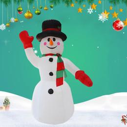 2019 festival lichter kostüm 2,4 mt LED Beleuchtete Schneemann Weihnachten Aufblasbare Schneemann Kostüm Weihnachten Blow Up Weihnachtsmann Riesen Outdoor kostüm Festival Dekoration günstig festival lichter kostüm