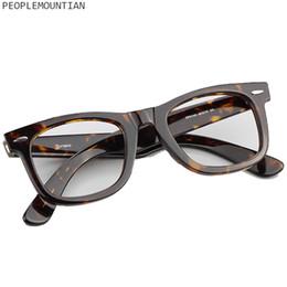 e798122c946 2019 New Vintage Eyeglasses Frames Man Women Optical Spectacle Frame Myopia  Brand Designer Tortoise Acetate Frame For Female