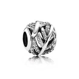 FHAMI 100% 925 plata de ley 791186CZ Feather Charm Beads originales joyería de alta calidad Diy pulsera de las mujeres Boutique de regalo desde fabricantes