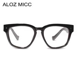 78a9e349e87 ALOZ MICC Women Square Glasses Frame 2019 Brand Designer Optical Glasses Men  High Quality Clear Lens Eyeglasses A656