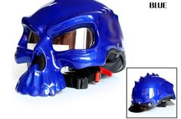 Argentina La locomotora de moda más vendida, esqueleto de Elley Harley Human con medio casco, puede usar un espejo de burbujas, se puede usar de doble cara Suministro