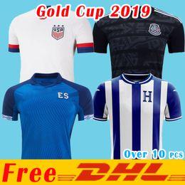 Dhl fußball trikots online-2019 DHL geben Verschiffen frei Goldcup-Panama-Fußball Jersey El Salvador Honduras Mexiko 2019 2020 Costa Rica Fußballhemd Größe kann durch ba gemischt werden