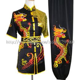 Argentina Traje de Kungfu uniforme de Wushu chino Prenda de rutina Traje de artes marciales kimono de rutina para niño niña hombres mujeres niños niña niños adultos Suministro