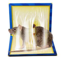 Ratos de armadilha on-line-Rato pegajoso Placa Rato Rato Furador Cola Colchetes Placa Super Pegajosa Rato Cobra Bugs Household Ratos Produtos de Controle BH1118 TQQ
