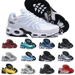 Nike Air Max TN Plus Supreme Shoes airmax Tn Off white Nuovi design Moda Sneakers uomo Tns Mesh traspirante Air Tn Plus Chaussures Requin Scarpe da ginnastica sportive da