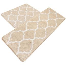 Deutschland Küchenmatte, dekorative rutschfeste Mikrofaser-Fußmatten-Badezimmer-Matten-Duschvorleger für Wohnzimmer-Fußmatten supplier decorative kitchen floor mats Versorgung