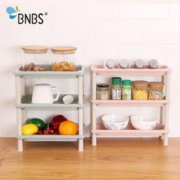 Canada BNBS Multi-usage Support de ménage Salle de bain Bureau Mini-étagère latérale Cuisine Épice Rack de rangement divers Économiser de l'espace Organisateur Étagères supplier used storage racks Offre
