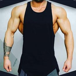 hoodies ärmellos männer styles Rabatt UK Männer Gym Weste Workout Fest Art Kapuze Tank Top Muskel-T-Shirt New Printed Hoodie Vest Weiß Rot Gary Schwarz