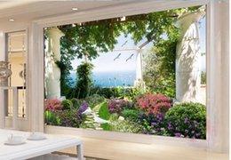 Rabatt Garten Wand Wandtapete 2019 Garten Wand Wandtapete Im