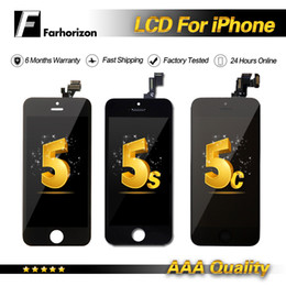 iphone 5c lcd touch screen digitizer Promo Codes - LCD Replacement For iPhone 5G 5C 5S Grade A+++ 100% Quality White & Black With Touch Screen Digitizer & Free DHL Shipping