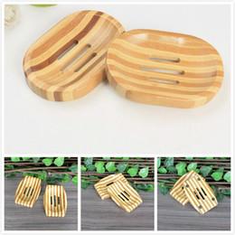 Supporto porta piatto da bagno online-Portasapone in legno naturale Portasapone in legno Portasapone portasapone Contenitore per vasca da bagno Doccia