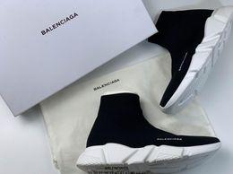 2019 nuevos amantes de los zapatos balanciaga tamaño grande para mujer y hombre Espesar abajo Aumentar altura zapatillas de correr Unisex zapatillas desde fabricantes