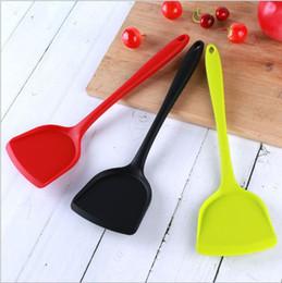 pás grossistas de cozinha Desconto Atacado ferramentas de cozinha cozinhar pá pá fogão non-stick de silicone conjunto de cozinha suprimentos de silicone