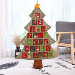 candle factories Promo Codes - Christmas decorations Hot Christmas tree linen calendar calendar shopping mall hotel family ornaments Factory direct