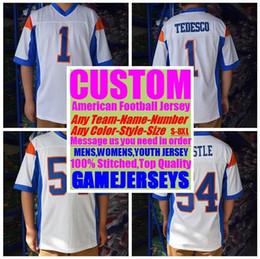 201c2508a70cd camiseta de fútbol americano xxl barato Rebajas Custom american Football  Jerseys College barato auténtica venta caliente