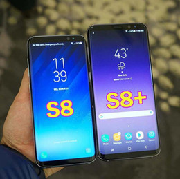 smartphone mtk Rabatt Unlocked New Goophone S8 S8 plus Android Smartphone MTK6580 Octa 1GB / 16GB 8MP Kamera 3G WCDMA S8 S8 + Handy