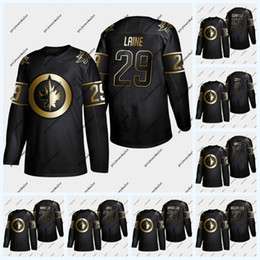 kevin hayes Rabatt Winnipeg Jets Golden Edition Trikot Patrik Laine Mark Scheifele Blake Wheeler Connor Hellebuyck Kevin Hayes Nikolaj Ehlers Andrew Copp