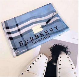 sciarpa a righe bianche blu Sconti Sciarpe di seta della sciarpa dello scialle della sciarpa di marca della sciarpa di marca delle sciarpe di marca del progettista della sciarpa superiore eccellente di lusso.