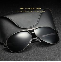 c93b739531 Nuevo HD Lente Polarizada Hombres Diseñador Piloto rana espejo para hombres  y mujeres Vintage Sport Alloy PC Gafas de sol de alta calidad