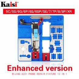 5s board Promotion Support de fixation de circuit imprimé 12 en 1 pour iPhone 5C 5S 6G 6S 6P 6SP 6SP SE 7G 7P 8G XR BGA