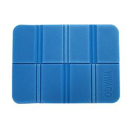 Cuscino portatile pieghevole online-Cuscino per sedia portatile in schiuma per picnic, per escursionismo, per cuscino, impermeabile, per campeggio XPE, leggero, pieghevole, per esterni