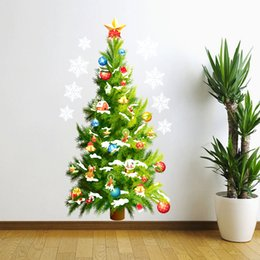 Christmas Tree Wall Sticker Sticker 3d Wall Stickers Decor Nightmare Before Diy Christmas Tree Decoration New Year