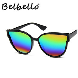 wholesale beautiful sunglasses Promo Codes - Belbello Chromatic Sunglasses Men Handsome Fashion Sunglasses New Style Goggle Women Beautiful Unisex Retro Glasses