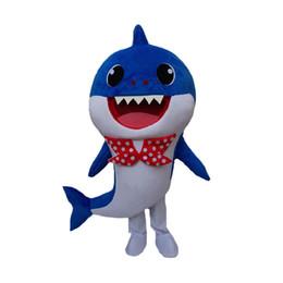 Trajes de personagens on-line-Profissional personalizado Bebê Tubarão Traje Da Mascote Dos Desenhos Animados Amarelo Rosa Tubarão Baleia Caráter Roupas de Mascote de Natal do Dia Das Bruxas Do Partido Do Vestido Extravagante