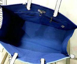 Bolso de lona bolso de piel de vaca online-41x34x19 Recién llegado de ONTHEGO bolsas de compras Bolso de mano compuesto Bolsos de lona Bolsos de mujer de cuero de vaca Bolso de viaje Bolso de mano M44569
