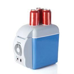 2019 mini congeladores 12V 7.5L Facilating Car Refrigerator Mini Refrigerador electrónico Congelador Refrigerador Viaje Doble uso rebajas mini congeladores