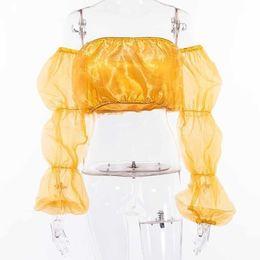 Camisola de alças amarela on-line-Senhoras Regatas da forma das mulheres Regatas Moda Tanque Yellow Tops Mulheres Verão Casual Top Feminino Malha sólida Top Curto Nova