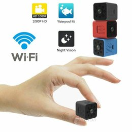 Camcorder cmos sensor on-line-SQ23 HD WIFI pequena mini Câmera 1080 P HD infravermelho night vision camera Sensor de Vídeo Night Vision Camcorder Micro Câmera