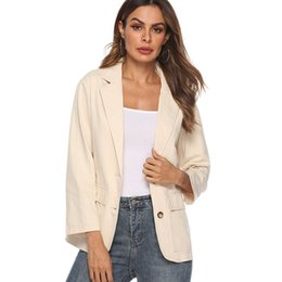 Blazer Feminin 2018 Femmes Bleu Rouge À Carreaux Blazer Style Ol Slim Blazers Et Vestes Un Bouton Costume Fille Bureau Veste Élégant 3xl L18101301