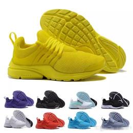 Argentina Diseñador 2018 Hombres Presto 5 Zapatillas de deporte Sport BR QS Blanco Negro Amarillo Rosa Aire respirable Zapatos deportivos Hombres Entrenadores Zapatillas de deporte para mujer supplier breathable womens trainers Suministro