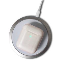 stimme bluetooth kopfhörer Rabatt Wireless-Ladekoffer W1 Airpods 2 Gen Bluetooth-Kopfhörer-Kopfhörer funktioniert Touch
