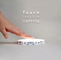 Kuantum lamba led dokunmatik duyarlı Gece Işıkları Altıgen lambalar modüler yaratıcı dekorasyon duvar nereden