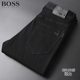2019 zerrissenen jeans für männer Stil Herren Designer-Jeans Man Ripped Denim Tearing Jeans blau Baumwolle Mode Enge Frühling Herbst Herrenhosen rabatt zerrissenen jeans für männer